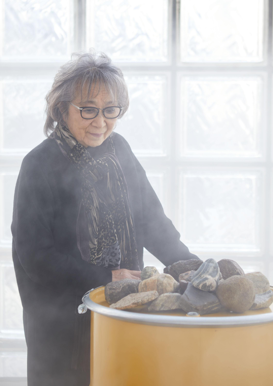 "Portrait de Fujiko Nakaya, ""Greenland"""