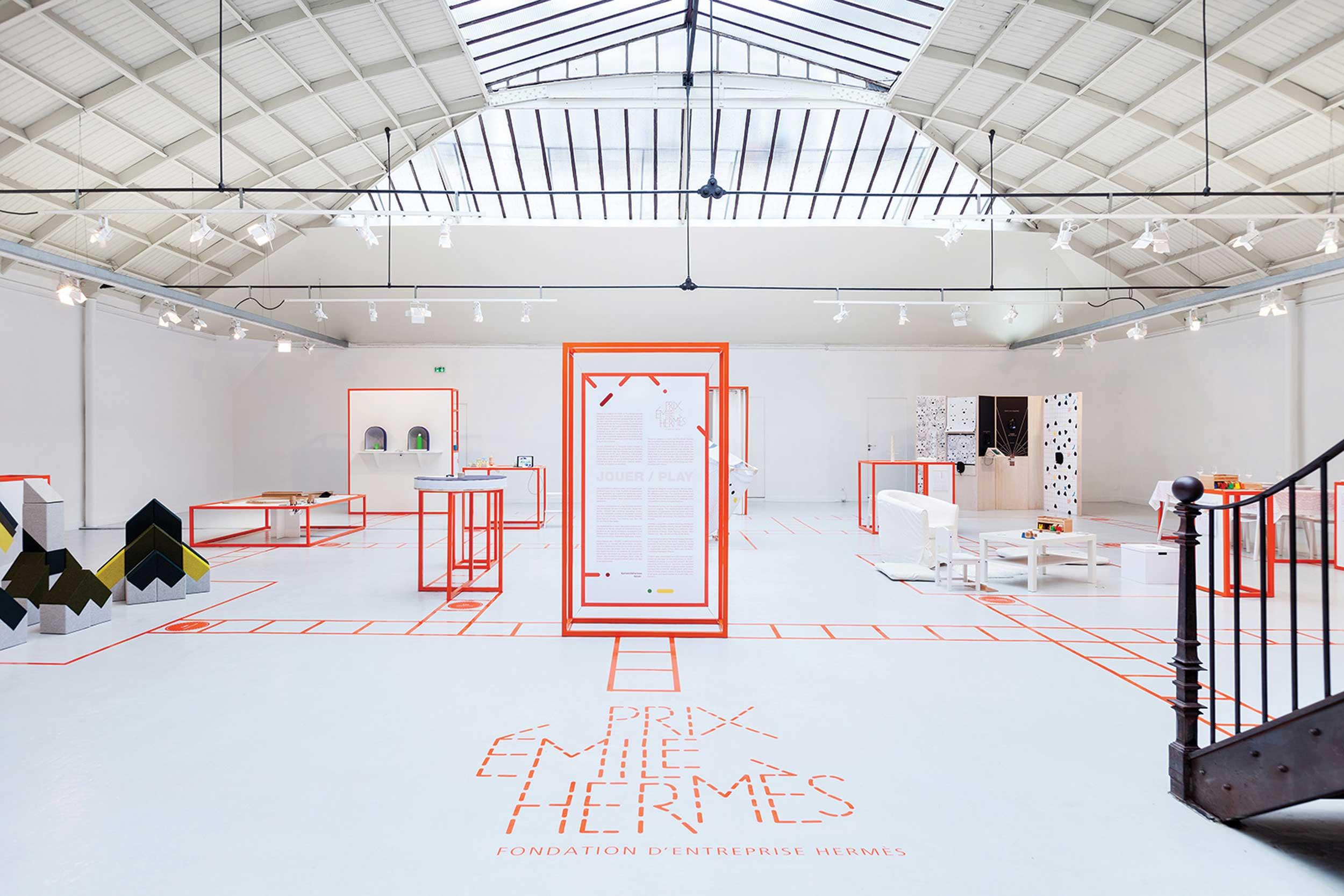Prix Émile Hermès 2016, exhibition of the prototypes at the Espace Commines, Paris © Pierre & Maurice