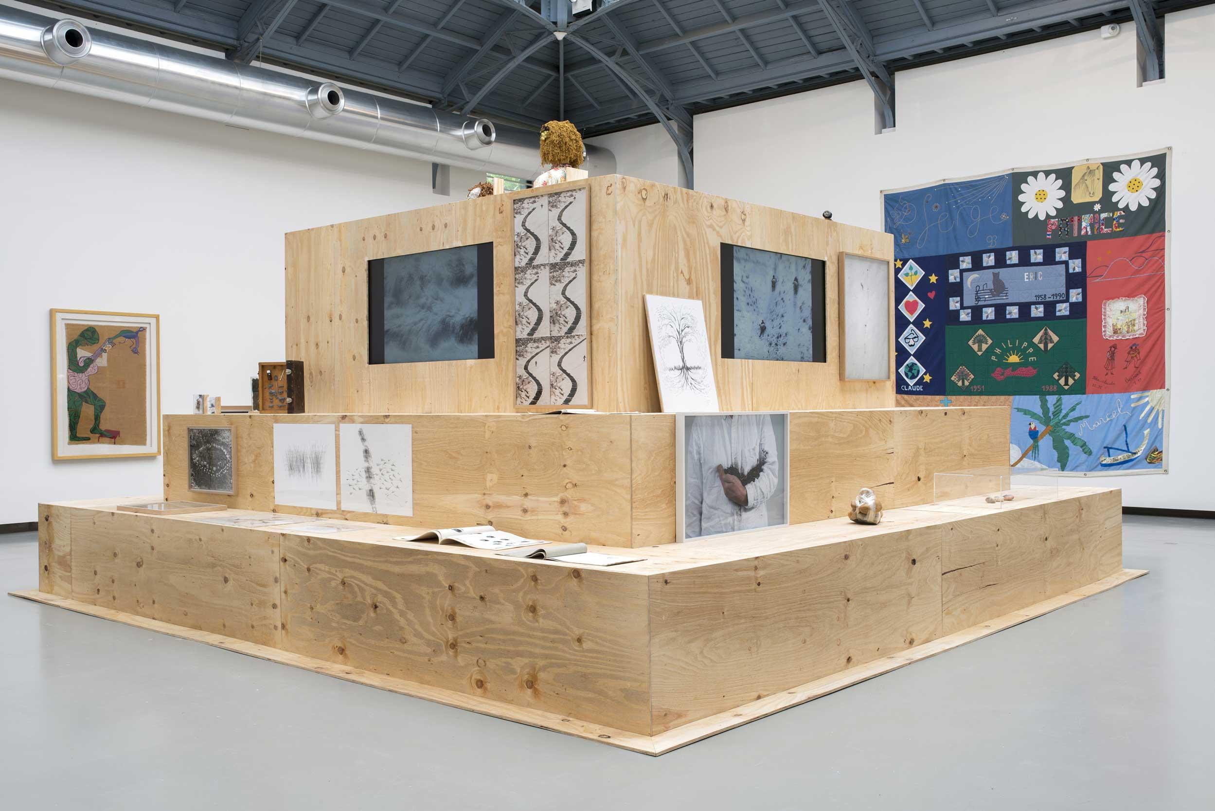 D Exhibition : Matters of concern matières à panseru201d: an exhibition series at la