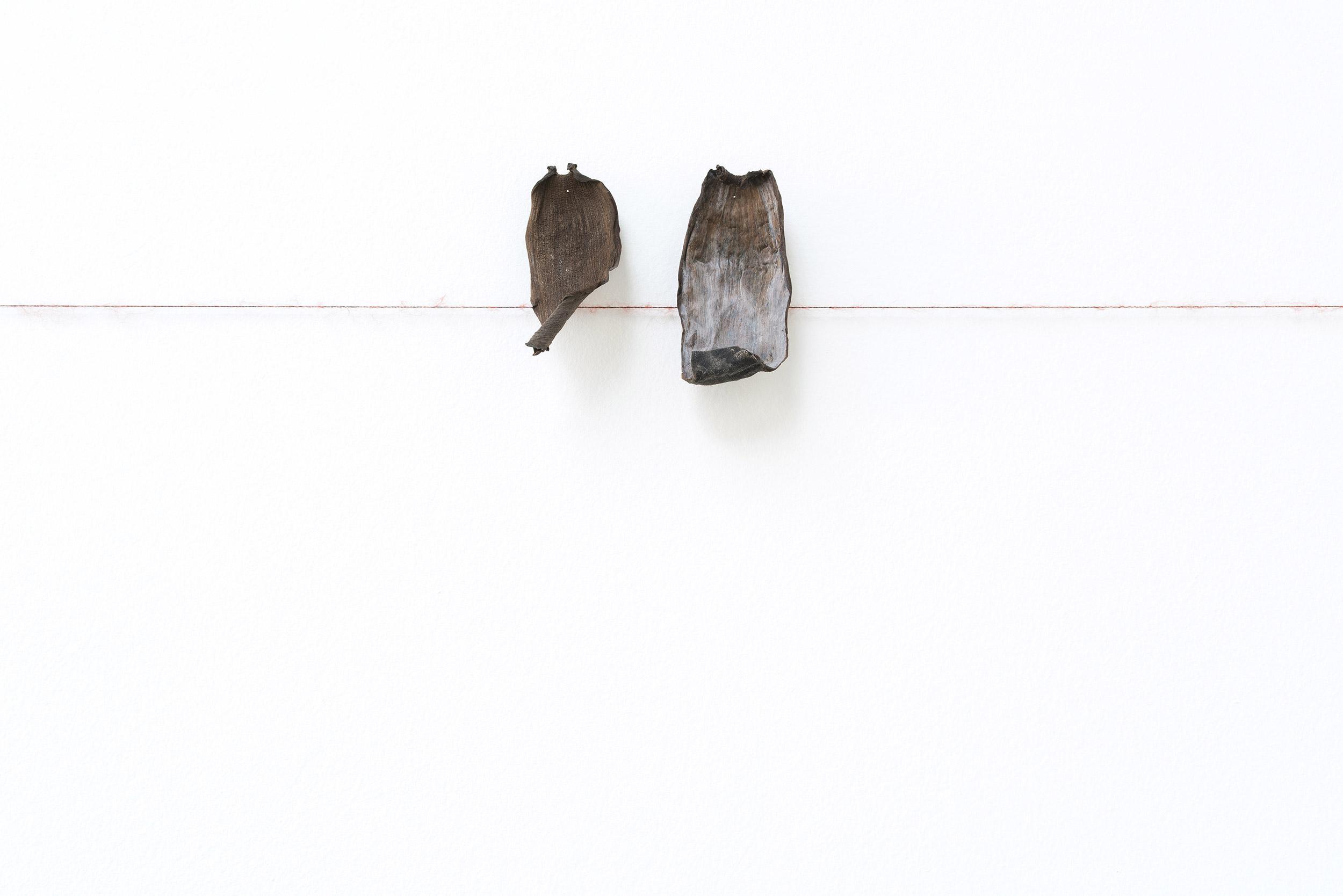 Vue de l'exposition de Minia Biabiany, « Musa Nuit », La Verrière (Bruxelles), 2020 © Isabelle Arthuis / Fondation d'entreprise Hermès