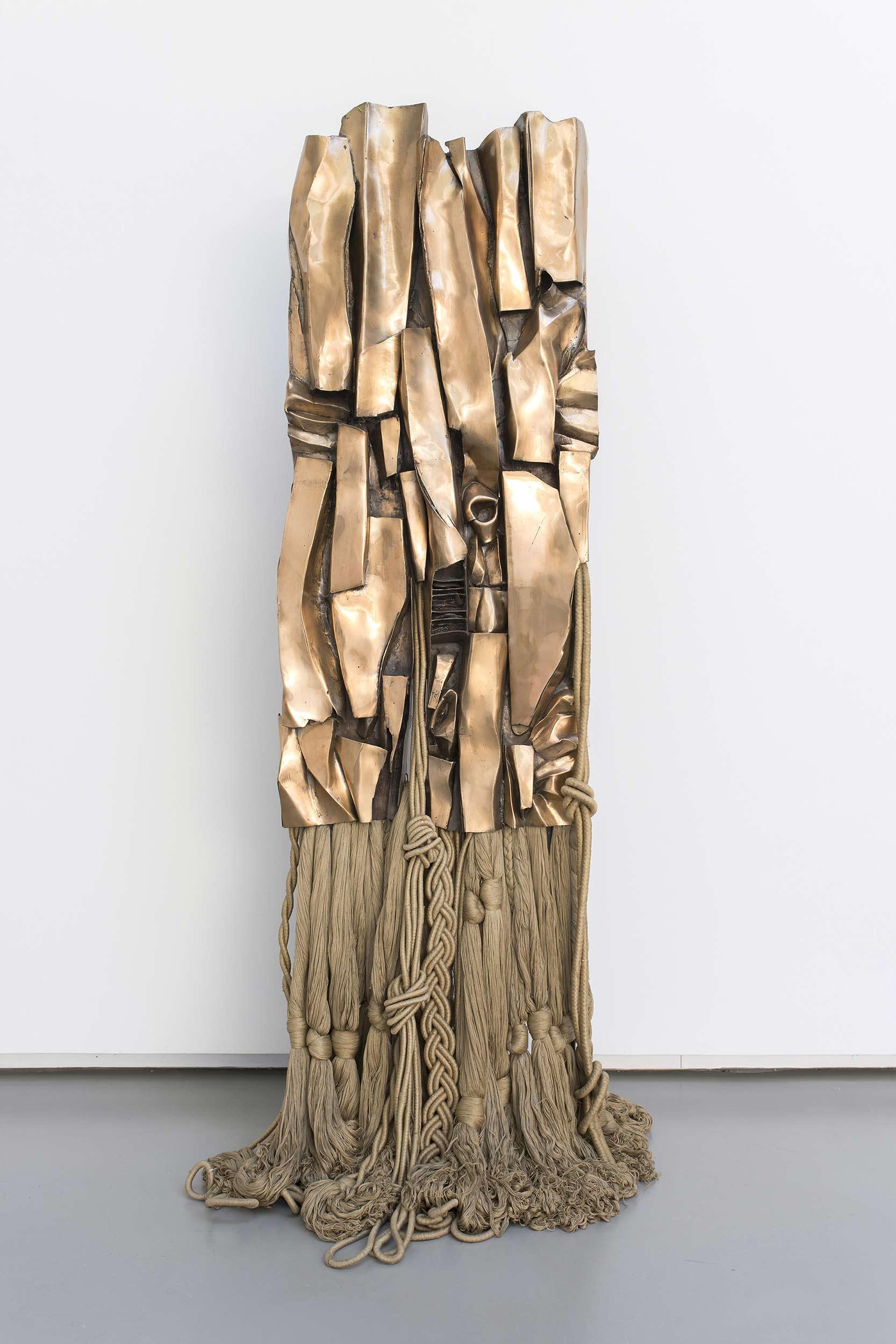 Vue de l'exposition de Barbara Chase-Riboud, « Avatars »