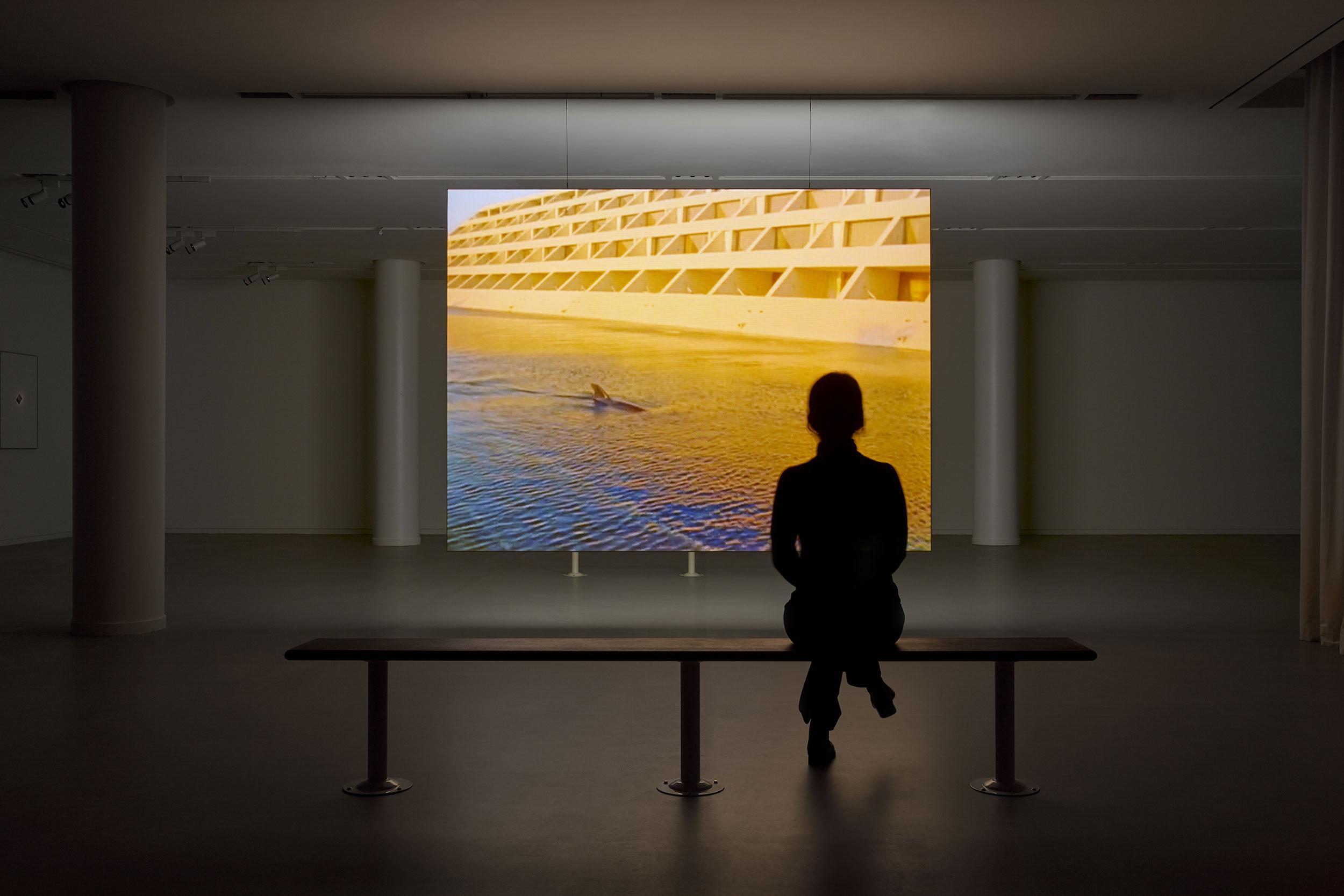 Vue d'exposition Cyprien Gaillard